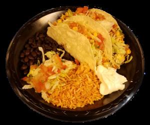 Matador Mexican Restaurant Taco Platter